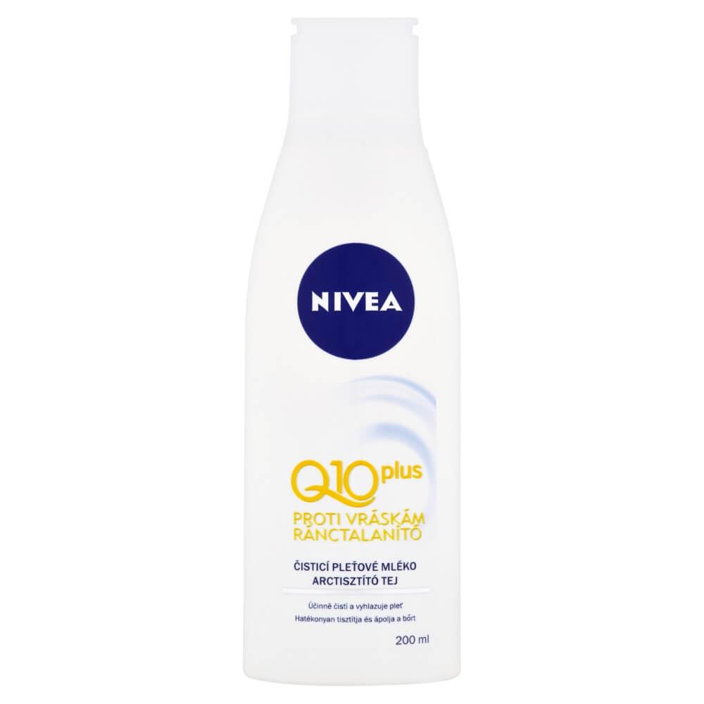 NIVEA Pleťové čistiace mlieko 200 ml Q10