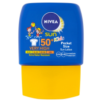 NIVEA Sun Vreckové detské mlieko na opaľovanie OF 50+ 50 ml