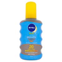 NIVEA Sun Protect & Bronze Olej na opaľovanie podporujúci zhnednutie OF 20 200 ml
