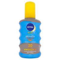 NIVEA Sun Olej na opaľovanie podporujúce zhnednutie Protect & Bronze OF 30 200 ml