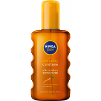NIVEA Sun Olej na opaľovanie v spreji s karoténom OF6 200 ml