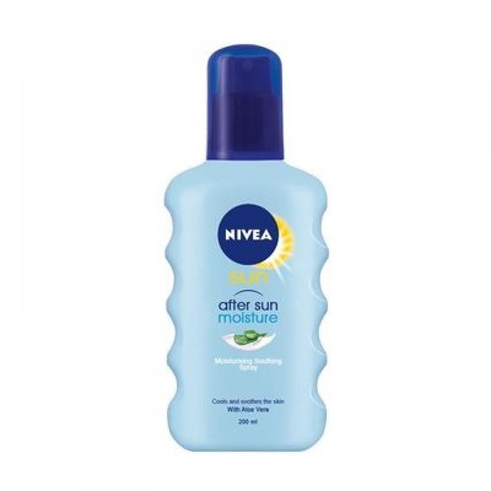 NIVEA Sun Hydratačný sprej po opaľovaní 200 ml