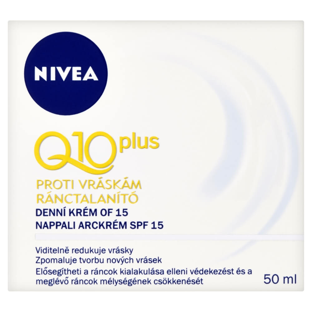 Nivea Q10 Plus Day Cream 50ml (Normálna až suchá pleť)