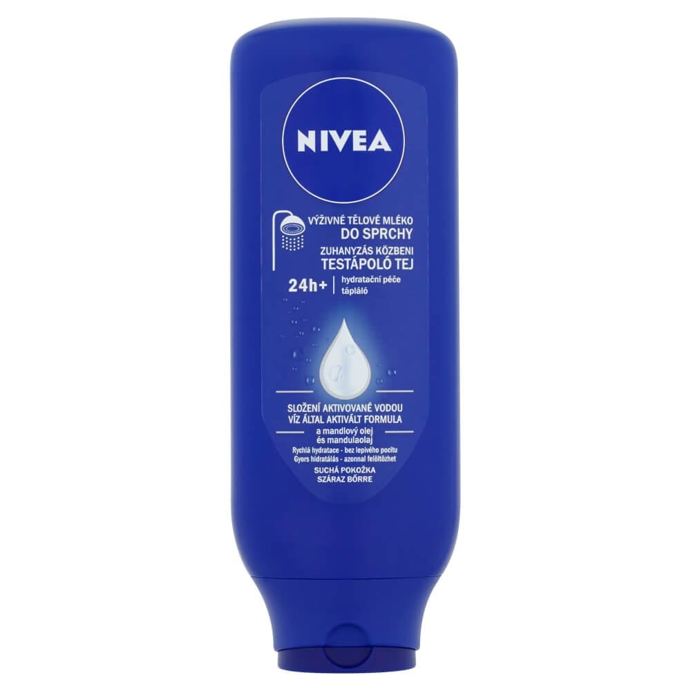 NIVEA Telové mlieko výživné do sprchy 400 ml