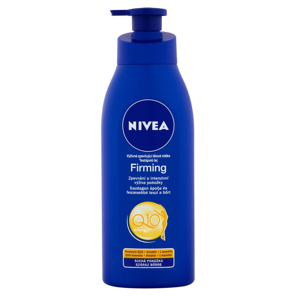NIVEA Spevňujúce telové mlieko s Q10 pre suchú pleť 400 ml