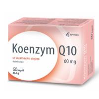 NOVENTIS Koenzým Q10 60 mg so sezamovým olejom 60 kapsúl