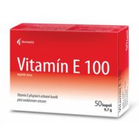 NOVENTIS Vitamín E 100 50 kapsúl