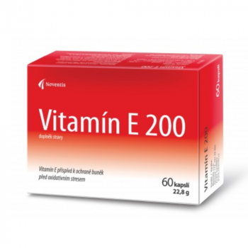 NOVENTIS Vitamín E 200 60 kapsúl