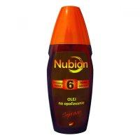 NUBIAN F6 olej na opaľovanie, spray 150ml