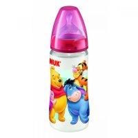 NUK First Choice Plus Fľaša Medvedík Pú 300 ml