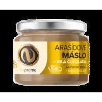 NUPREME Arašidové maslo s bielou čokoládou 220 g