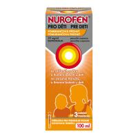 NUROFEN pre deti Pomaranč perorálna suspenzia 100 ml