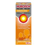 NUROFEN pre deti Pomaranč perorálna suspenzia 200 ml