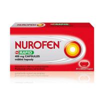 NUROFEN Rapid 400 mg 20 mäkkých kapsúl