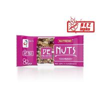 NUTREND DENUTS Orechová tyčinka Brusnica 35 g