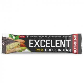 NUTREND Excelent protein bar double mandle a pistácie 40 g