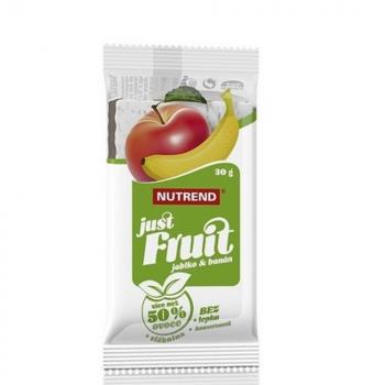 NUTREND Just Fruit tyčinka banán a jablko 30 g
