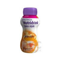 NUTRIDRINK Juice Style s príchuťou pomarančovou 4x200 ml