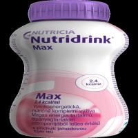 NUTRIDRINK MAX  s príchuťou jahodovou 4x 300 ml