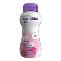 NUTRIDRINK MAX  s príchuťou jahodovou 4x300 ml