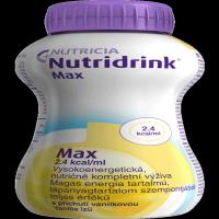 NUTRIDRINK Max s príchuťou vanilkovou 4x 300 ml