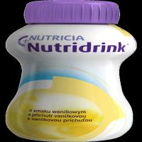 NUTRIDRINK S vanilkovou príchuťou 4x 200 ml