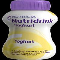 NUTRIDRINK Yoghurt s príchuťou vanilka a citrón 4x 200 ml