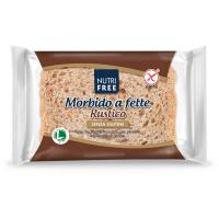 NUTRIFREE Toastový chlieb celozrnný 165 g