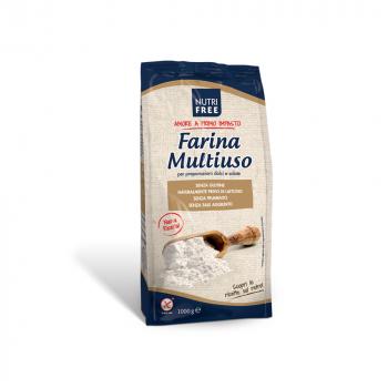 NUTRIFREE Univerzálna zmes bez lepku Multiuso 1 kg