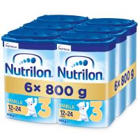 NUTRILON 3 Vanilla Pokračovacie batoľacie mlieko od 12-24 mesiacov 6x 800 g