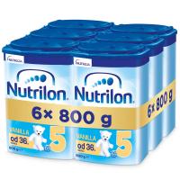 NUTRILON 5  Vanilla Detské mlieko od 36 mesiacov 6x 800 g