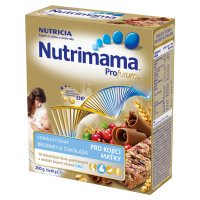 NUTRIMAMA Cereálne tyčinky s brusnicami a čokoládou 200 g od 0M