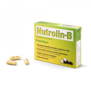NUTROLIN-B kapsule 20 želatínových kapsúl
