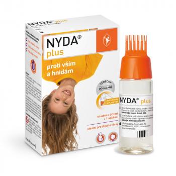 NYDA Plus proti všiam a hnidám 100 ml