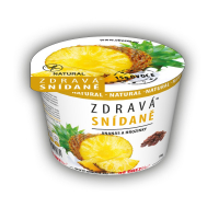 OBEZIN Zdravé raňajky Ananás a hrozienka 78 g