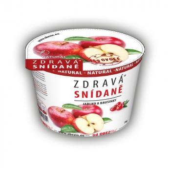 OBEZIN Zdravé raňajky Jablko a brusnice 78 g