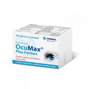 SVUS Ocumax Plus Farmax 40+20 toboliek zdarma