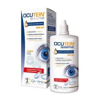 DA VINCI ACADEMIA Ocutein Sensitive roztok na kontaktné šošovky 360 ml + puzdro na šošovky ZADARMO