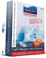 NOR-OIL Omega 3 cps Panenský lososový olej 1x60 ks