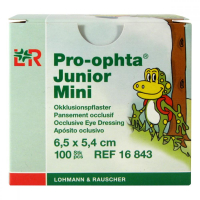 PRO-OPHTA JUNIOR MINI OCNE KRYTIE 6,5x5,4 cm 1x100 ks