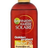 GARNIER Ambre Solaire Olej na opaľovanie OF20 150 ml