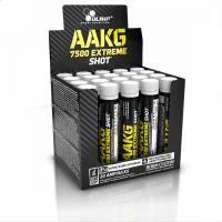 AAKG 7500 Extreme Shot, NO systém, ampule 25 ml, Olimp - Čerešňa