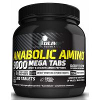 Anabolic Amino 9000, komplexné aminokyseliny, 300 kapslí, Olimp