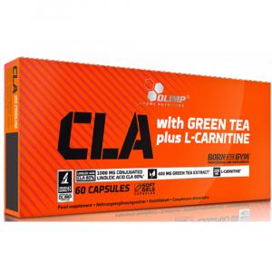 OLIMP LABORATORIES CLA with green tea plus L-carnitine - športová výživa 60 kapslí