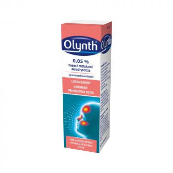 OLYNTH 0,05 % nosová roztoková aerodisperzia 10 ml