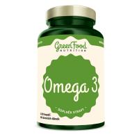 GREENFOOD NUTRITION Omega 3 120 kapsúl