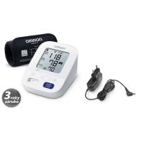 OMRON M3 Comfort tonometer 2020 + adaptér