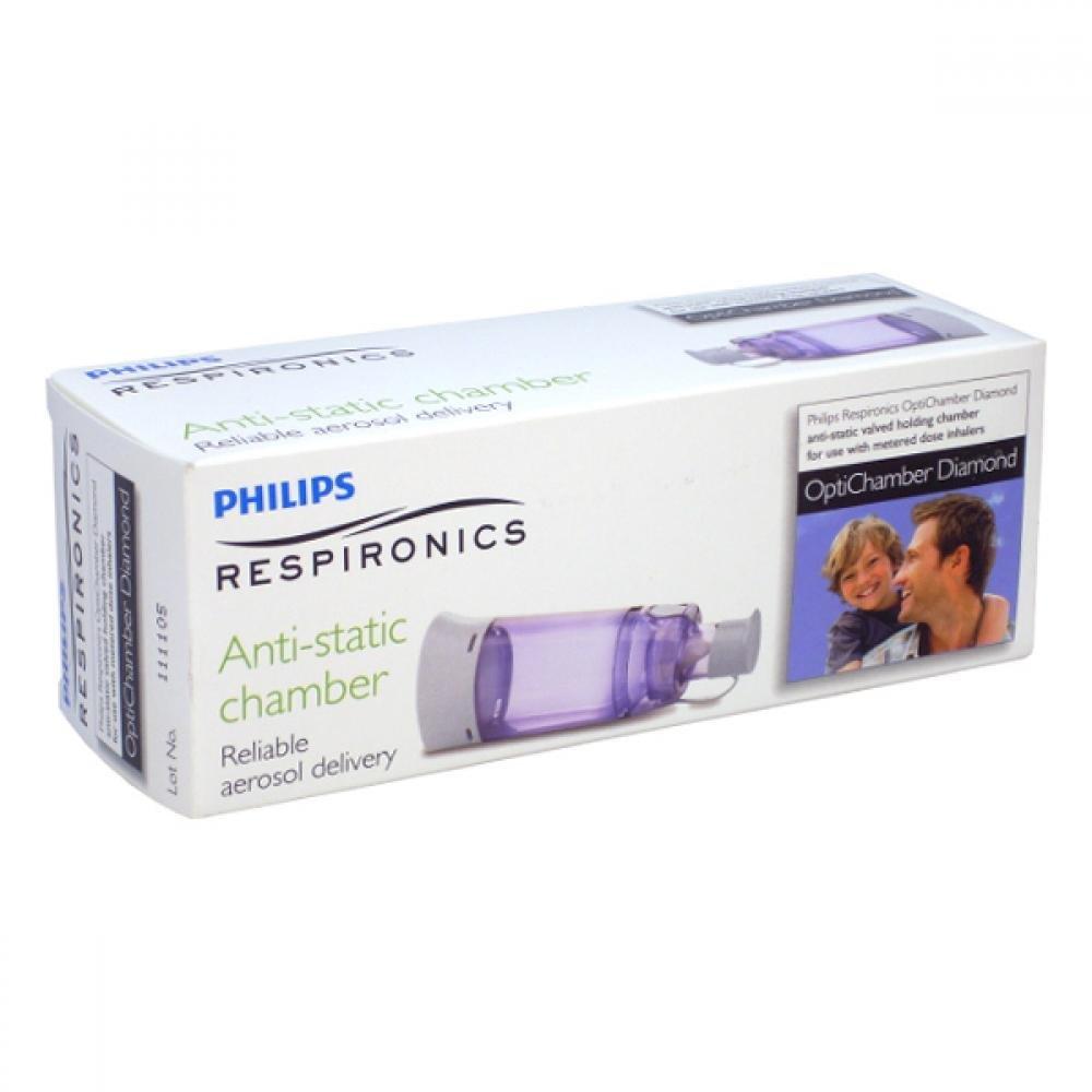 PHILIPS RESPIRONICS® Optichamber Diamond inhalačné nástavec
