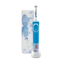 ORAL-B Vitality D100 Frozen II. detská zubná kefka + cestovné púzdro