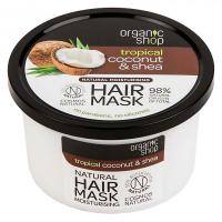 ORGANIC SHOP Hydratačná vlasová maska Kokos a Bambucké maslo 280 ml